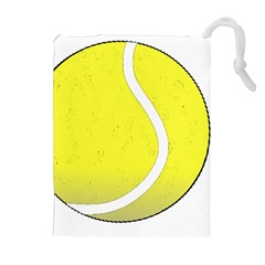 Tennis Ball Ball Sport Fitness Drawstring Pouches (extra Large)