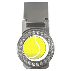 Tennis Ball Ball Sport Fitness Money Clips (cz)  by Nexatart