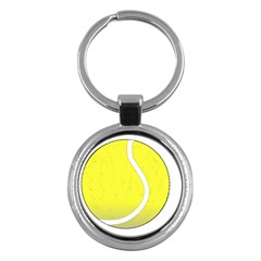 Tennis Ball Ball Sport Fitness Key Chains (round)