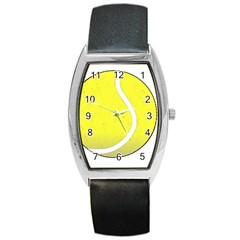 Tennis Ball Ball Sport Fitness Barrel Style Metal Watch