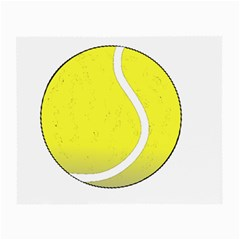 Tennis Ball Ball Sport Fitness Small Glasses Cloth by Nexatart