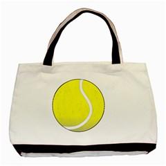 Tennis Ball Ball Sport Fitness Basic Tote Bag by Nexatart