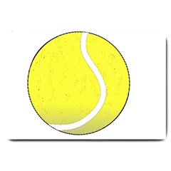 Tennis Ball Ball Sport Fitness Large Doormat  by Nexatart