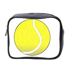 Tennis Ball Ball Sport Fitness Mini Toiletries Bag 2 Side by Nexatart