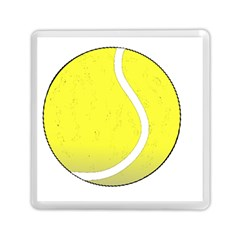 Tennis Ball Ball Sport Fitness Memory Card Reader (square)  by Nexatart