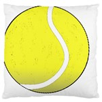 Tennis Ball Ball Sport Fitness Large Cushion Case (Two Sides) Front