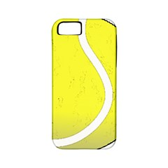 Tennis Ball Ball Sport Fitness Apple Iphone 5 Classic Hardshell Case (pc+silicone) by Nexatart