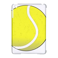 Tennis Ball Ball Sport Fitness Apple Ipad Mini Hardshell Case (compatible With Smart Cover) by Nexatart