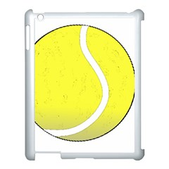Tennis Ball Ball Sport Fitness Apple Ipad 3/4 Case (white) by Nexatart