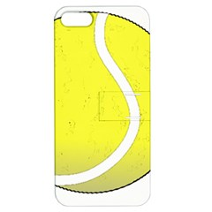 Tennis Ball Ball Sport Fitness Apple Iphone 5 Hardshell Case With Stand