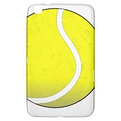 Tennis Ball Ball Sport Fitness Samsung Galaxy Tab 3 (8 ) T3100 Hardshell Case  by Nexatart