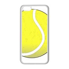 Tennis Ball Ball Sport Fitness Apple Iphone 5c Seamless Case (white) by Nexatart