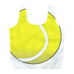 Tennis Ball Ball Sport Fitness Full Print Recycle Bags (l)  by Nexatart