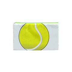 Tennis Ball Ball Sport Fitness Cosmetic Bag (xs) by Nexatart