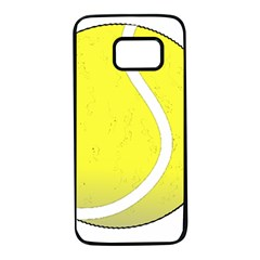 Tennis Ball Ball Sport Fitness Samsung Galaxy S7 Black Seamless Case