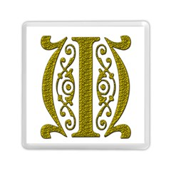 Gold Scroll Design Ornate Ornament Memory Card Reader (square)  by Nexatart