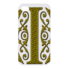 Gold Scroll Design Ornate Ornament Apple Iphone 4/4s Hardshell Case