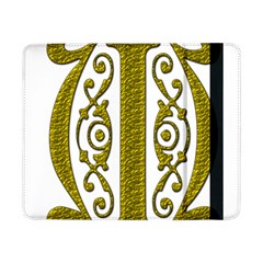 Gold Scroll Design Ornate Ornament Samsung Galaxy Tab Pro 8 4  Flip Case