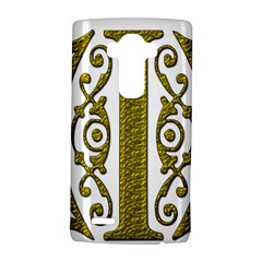 Gold Scroll Design Ornate Ornament Lg G4 Hardshell Case by Nexatart