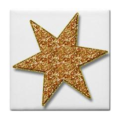 Star Glitter Tile Coasters