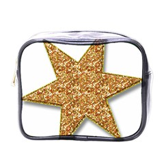 Star Glitter Mini Toiletries Bags by Nexatart