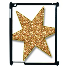 Star Glitter Apple Ipad 2 Case (black)