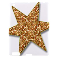 Star Glitter Apple Ipad 3/4 Hardshell Case by Nexatart