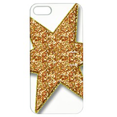 Star Glitter Apple Iphone 5 Hardshell Case With Stand by Nexatart