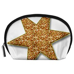Star Glitter Accessory Pouches (large)