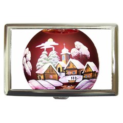 Christmas Decor Christmas Ornaments Cigarette Money Cases by Nexatart