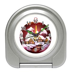 Christmas Decor Christmas Ornaments Travel Alarm Clocks by Nexatart