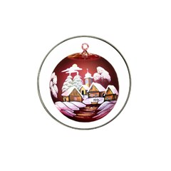Christmas Decor Christmas Ornaments Hat Clip Ball Marker (4 Pack)