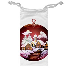 Christmas Decor Christmas Ornaments Jewelry Bag by Nexatart