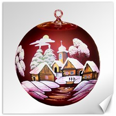Christmas Decor Christmas Ornaments Canvas 20  X 20   by Nexatart