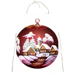 Christmas Decor Christmas Ornaments Full Print Aprons