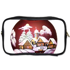 Christmas Decor Christmas Ornaments Toiletries Bags 2 Side