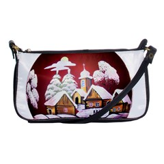 Christmas Decor Christmas Ornaments Shoulder Clutch Bags by Nexatart