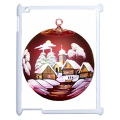 Christmas Decor Christmas Ornaments Apple Ipad 2 Case (white) by Nexatart