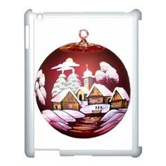 Christmas Decor Christmas Ornaments Apple Ipad 3/4 Case (white) by Nexatart