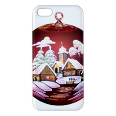 Christmas Decor Christmas Ornaments Iphone 5s/ Se Premium Hardshell Case by Nexatart