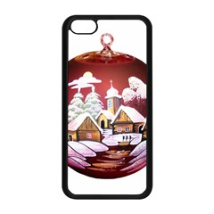 Christmas Decor Christmas Ornaments Apple Iphone 5c Seamless Case (black)