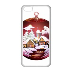 Christmas Decor Christmas Ornaments Apple Iphone 5c Seamless Case (white) by Nexatart