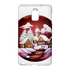 Christmas Decor Christmas Ornaments Galaxy Note Edge by Nexatart
