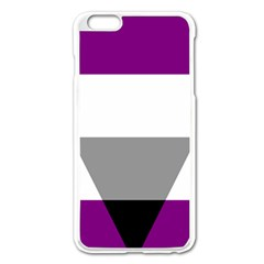Aegosexual Autochorissexual Flag Apple Iphone 6 Plus/6s Plus Enamel White Case by Mariart