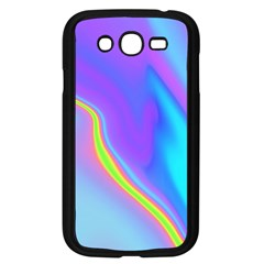 Aurora Color Rainbow Space Blue Sky Purple Yellow Samsung Galaxy Grand Duos I9082 Case (black) by Mariart