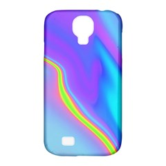 Aurora Color Rainbow Space Blue Sky Purple Yellow Samsung Galaxy S4 Classic Hardshell Case (pc+silicone) by Mariart