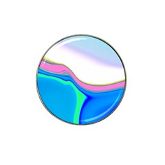 Aurora Color Rainbow Space Blue Sky Purple Yellow Green Hat Clip Ball Marker (10 Pack) by Mariart