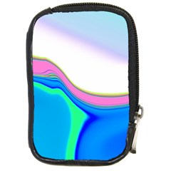 Aurora Color Rainbow Space Blue Sky Purple Yellow Green Compact Camera Cases by Mariart
