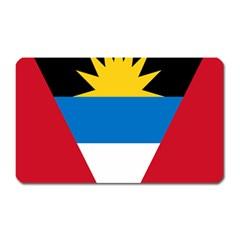 Banner Flag Sun Line Chevron Red White Black Blue Magnet (rectangular) by Mariart