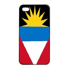 Banner Flag Sun Line Chevron Red White Black Blue Apple Iphone 4/4s Seamless Case (black)